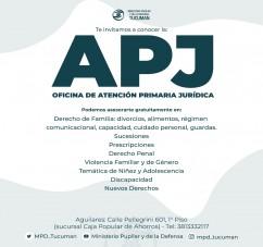 EL MINISTERIO PUPILAR Y DE LA DEFENSA PONE AL SERVICIO DE LA POBLACIÓN LAS OFICINAS DE ATENCIÓN PRIMARIA JURIDICA.
