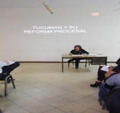 Capacitación: Lineamientos del nuevo sistema Procesal Penal.