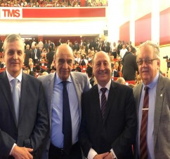 EL MINISTRO DE LA DEFENSA ASISTIO A LA ASUNCION DEL GOBERNADOR JUAN MANZUR