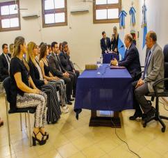 EL MINISTERIO DE LA DEFENSA PROMOVIO A FUNCIONARIOS PARA REFORZAR LA TAREA DE LAS DEFENSORIAS
