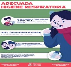 IMPORTANTES RECOMENDACIONES PREVENTIVAS ANTE LA CIRCULACIÓN DEL CORONAVIRUS