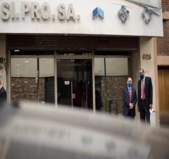EL MINISTRO PUPILAR Y DE LA DEFENSA PARTICIPO DEL COTEJO DE PRECIOS PARA ADQUIRIR INSUMOS DESTINADOS A LA LUCHA CONTRA EL COVID19