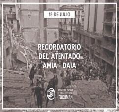 A 26 AÑOS DEL ATENTADO A LA AMIA