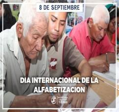 EL MINISTERIO PUPILAR Y DE LA DEFENSA VALORA LA EDUCACION EN EL DIA INTERNACIONAL DE LA ALFABETIZACION