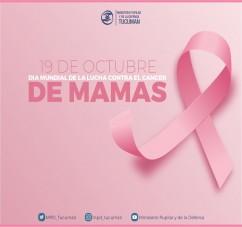 DIA MUNDIAL DE LA LUCHA CONTRA EL CANCER DE MAMAS