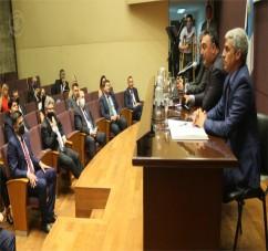 EL MINISTRO PUPILAR Y DE LA DEFENSA PARTICIPO EN LA ASUNCION DEL NUEVO PRESIDENTE DEL COLEGIO DE ABOGADOS