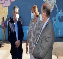 EL MINISTRO PUPILAR Y DE LA DEFENSA VISITO EL CENTRO DE ADMISION Y DERIVACION DE ADOLESCENTES EN CONFLICTO CON LA LEY