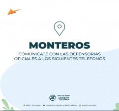 EL MINISTERIO PUPILAR Y DE LA DEFENSA PONE A DISPOSICION LOS NUEVOS TELEFONOS PARA COMUNICARSE